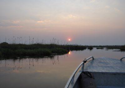 Botswana - Okavango - sunset