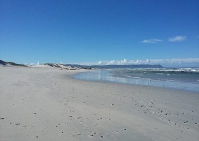 Overberg Wine Walk beach view