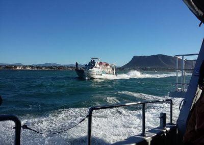 Charterer boat